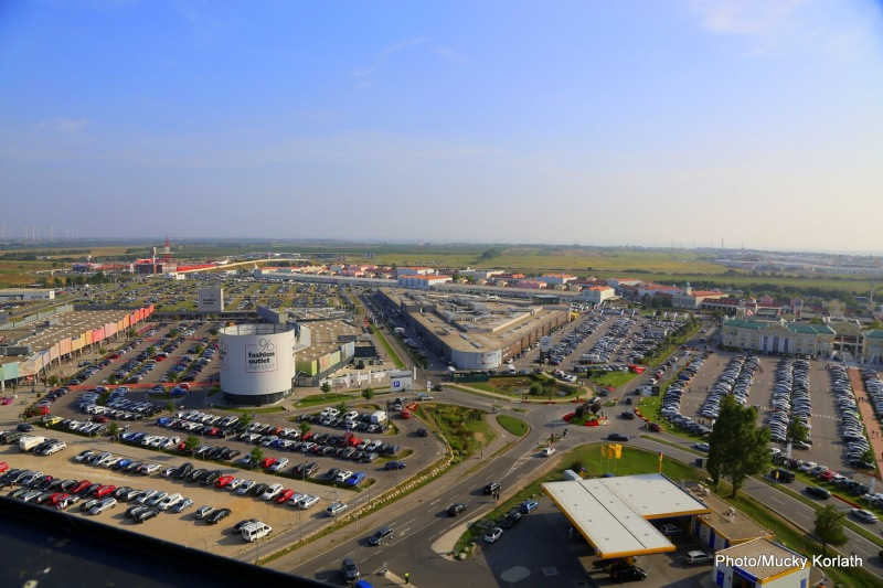 Gemeinde Parndorf Pandrof Burgenland Wirtschaft