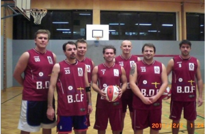 "Basketballverein ""Balls on Fire"""
